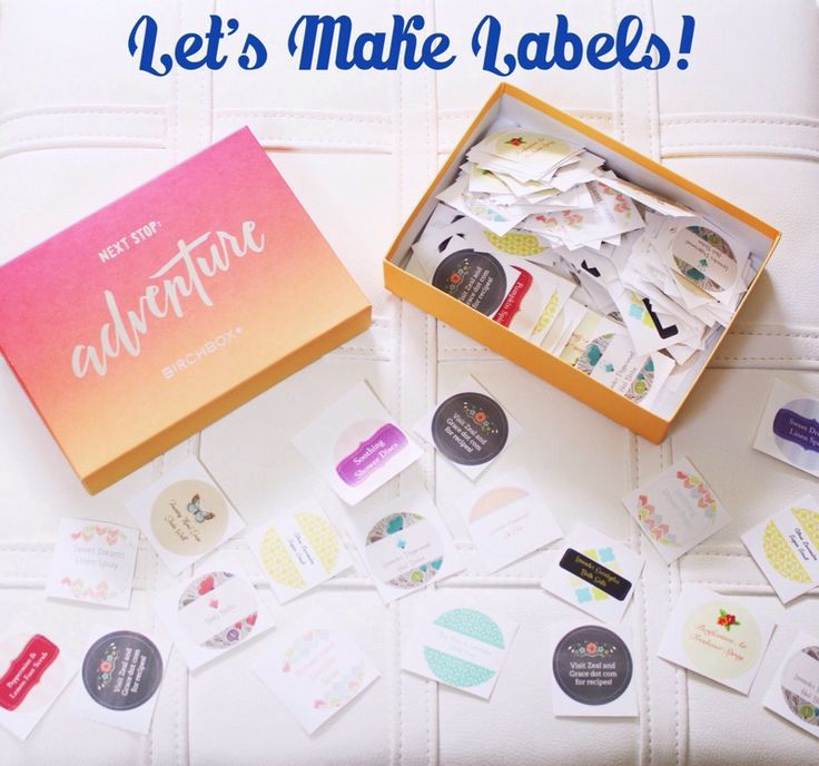 Labels are such an easy and fun way to decorate mason jars, gift bags, and containers to use for your essential oil recipes! I keep all different kinds in my craft drawers using my adorable boxes f…
