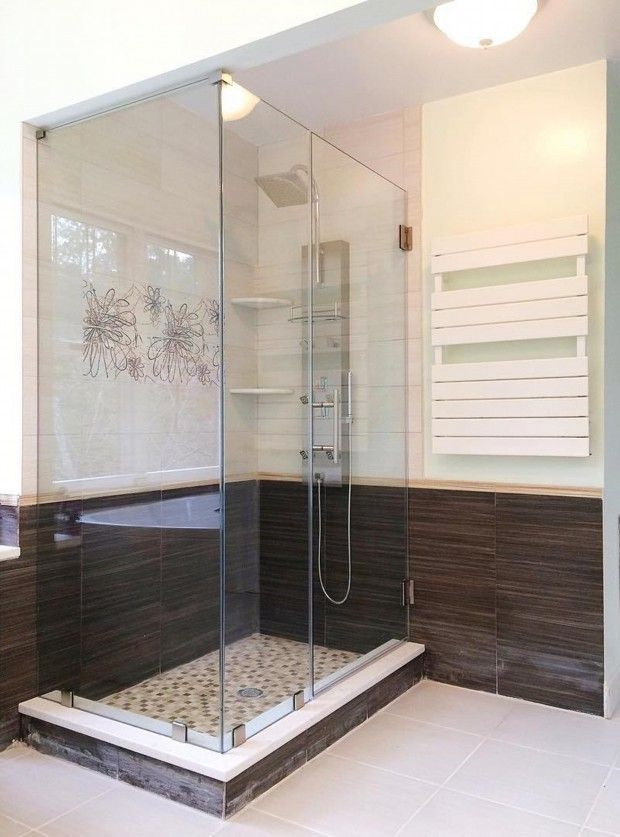 Best Walk In Shower Small Bathroom Images On Pinterest Ideas