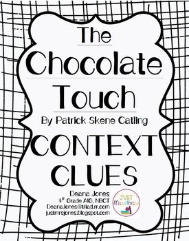 This is a free context clues worksheet using examples from