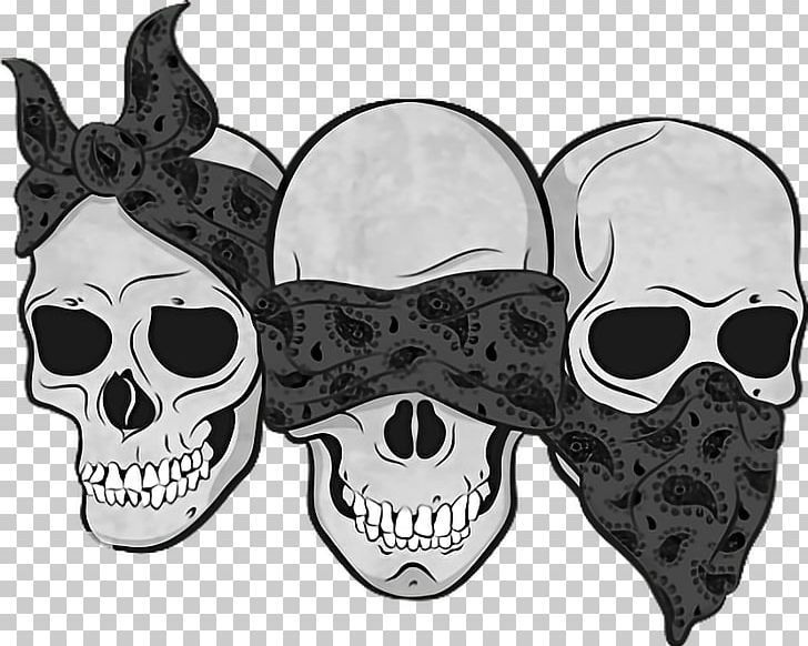 Three Wise Monkeys Drawing Calavera Skull Png Art Bandana Black And White Bone Calavera Monkey Tattoos Three Wise Monkeys Monkey Drawing