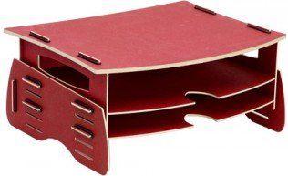 Увеличить изображение Аксессуар Fellowes Earth Series FS-8015001 подставка под монитор, цвет красный