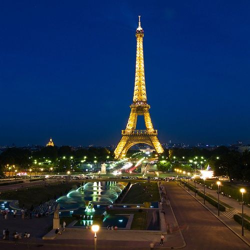 paris france at night - Google Search