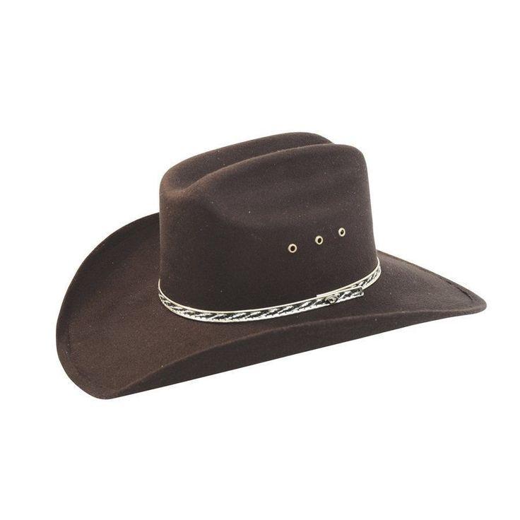 Cappello Marshall in feltro rigido e lacciolino decorato