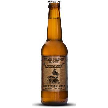 Lawbreaker / UNFILTERED LAGER (3,5%) Lawbreaker är vår andra folköl på marknaden. Som namnet antyder är det en ofiltrerad lager som bryter mot alla regler när det kommer till traditionell lager. Vi använder både amerikansk och europeisk humle. Vi har tagit öl-lagen i egna händer. Gör det du med!