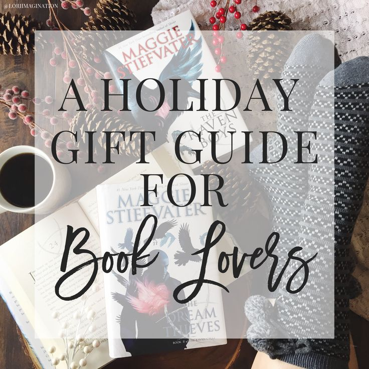 A Holiday Gift Guide For Book Lovers