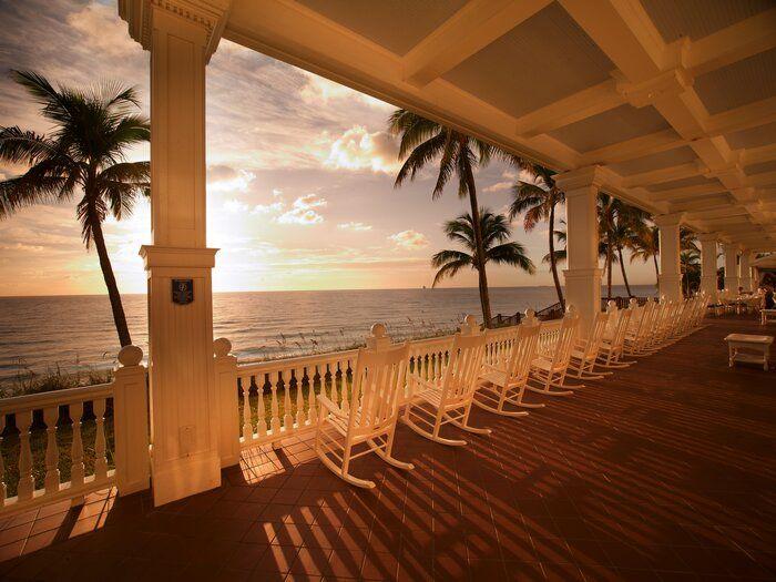 Ice Cream at the Pelican Grand Beach Resort – Fort Lauderdale, Florida - my favorite hotel...