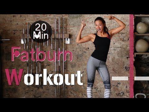 ▶ 20 Min Hardcore Indoor Fatburn Workout #2 - HIIT - Fettverbrennung und Muskelaufbau garantiert! - YouTube