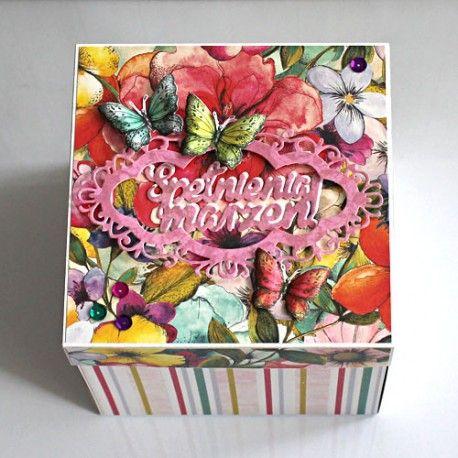 Duże pudełko (exploding box) - na urodziny, imieniny