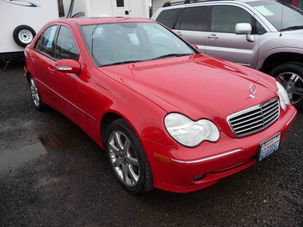 2003 Mercedes C-320 Sport, Clean Title Low 96k Mi. New Tires NICE