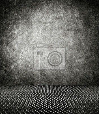 Välj en fototapet från kategorin grå, bakgrund, metall - inre av grunge byggnad. PIXERS fototapeter gjorda av fantastiska tryckmaterial. Välj  artistiska foton från vår katalog.