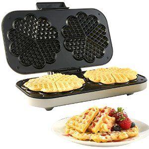 Vonshef waffle maker £17.99