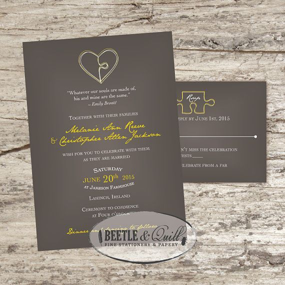 Piece wedding on pinterest puzzle pieces puzzles and puzzle wedding