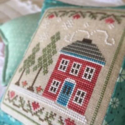 snow place like home part 2 of via country cottage needleworks via the stitch and frame shop