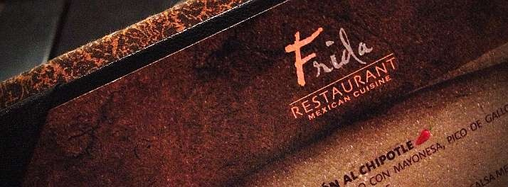 Frida restaurant menu at Hard Rock Hotel #Vallarta