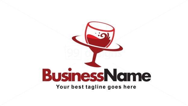 Wine Planet Application Logo Design on 99designs Logo Store