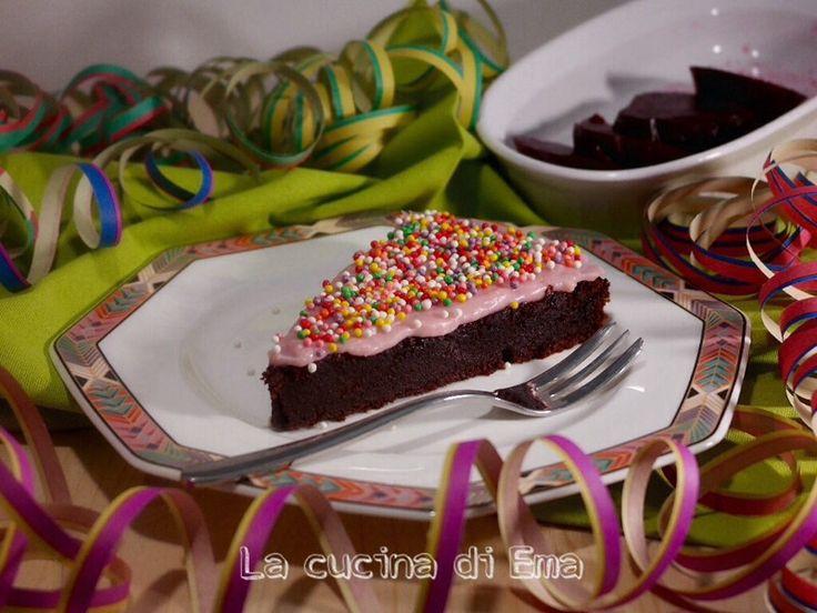 Torta+al+cioccolato+e+barbabietole+rosse