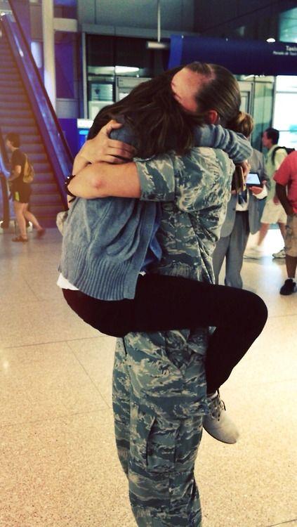 When your girlfriend finally comes home! Love you, moye serdtse!