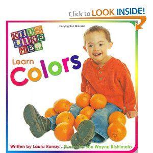 Kids Like Me Learn Colors