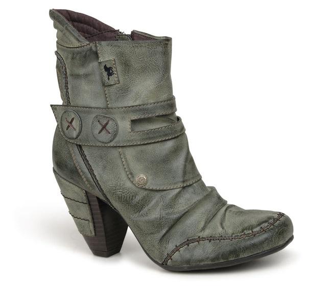 Botki damskie  MUSTANG shoes  25C-017