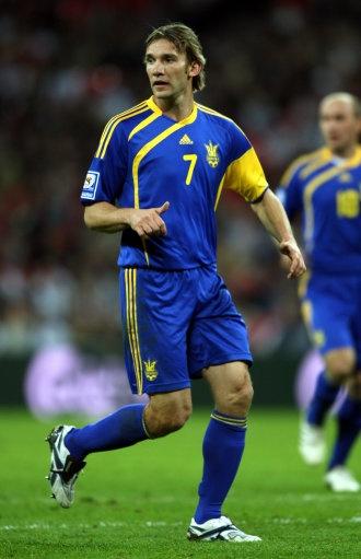 Andriy Shevchenko, Ukraine