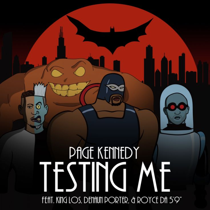 "Page Kennedy - ""Testing Me"" (feat. King Los, Denaun Porter & Royce da 5'9"") [Audio] - http://getmybuzzup.com/page-kennedy-testing-me-feat/"
