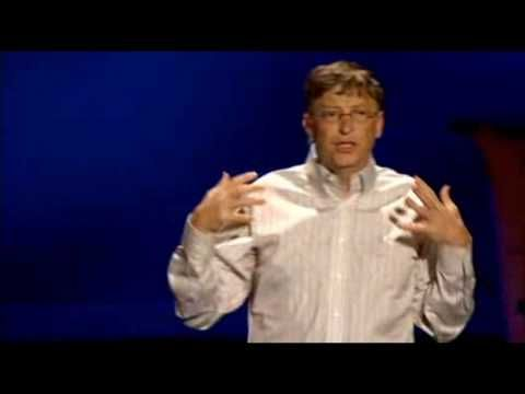 Video Bill Gates/mosquitoes @ TED (unedited point segment) ~ 2-4-09