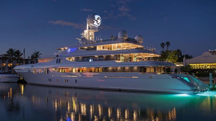 Look in a luxury yacht