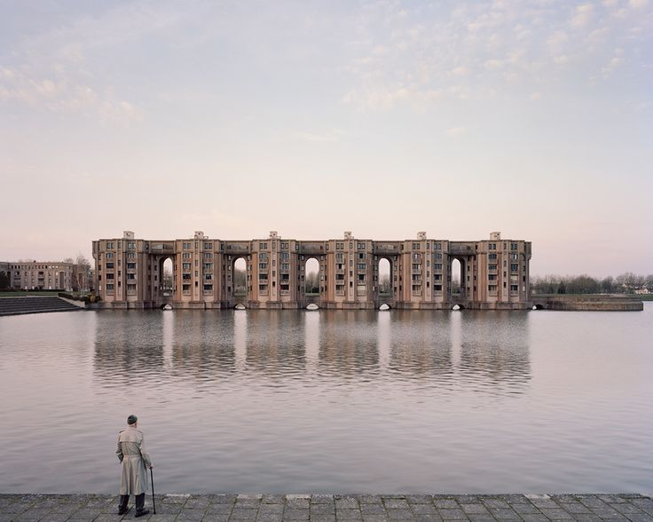 Les Arcades du Lac / Ricardo Bofill