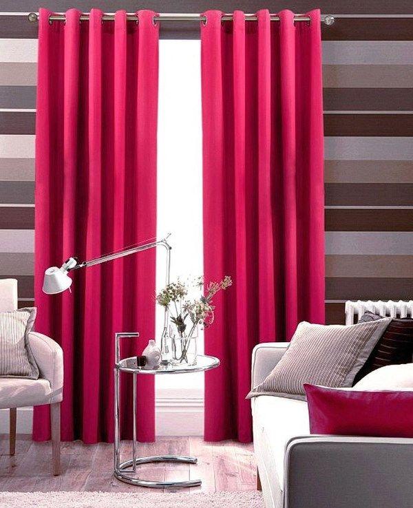 Розовые шторы – мечта о прекрасном будущем