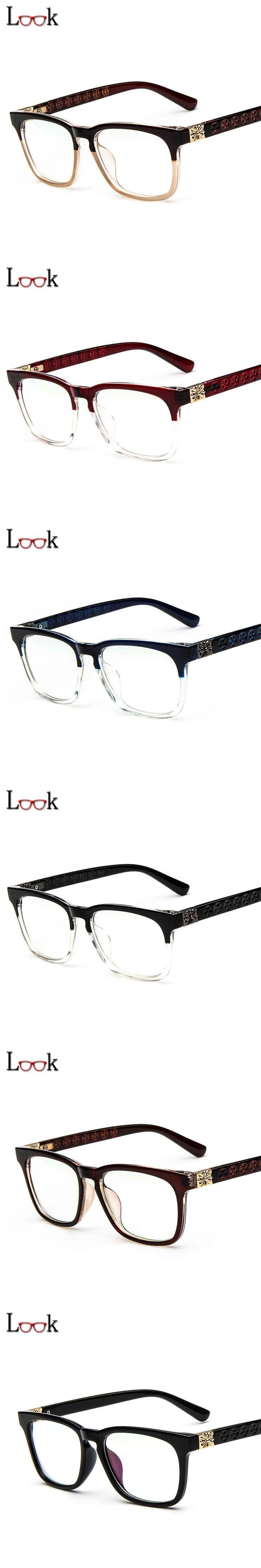 New 2017 Brand Optical Eyeglasses Frames For Women Men Lentes Opticos Prescription Glasses Frame Eyewear Oculos Lunette De Vue