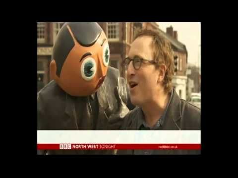 Jon Ronson taking about 'Frank' the Hollywood movie starring Michael Fassbender Also Harry Sievey son of Chris Sievey who was the man behind the mask.