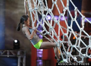 Kacy Catanzaro on American Ninja Warrior