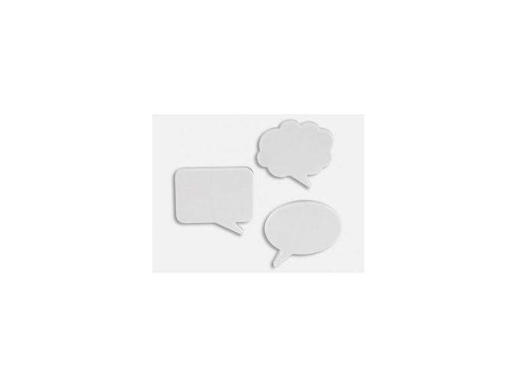 Zestaw Mini Magnesów Talk Bubble — Magnesy na lodówkę umbra — sfmeble.pl