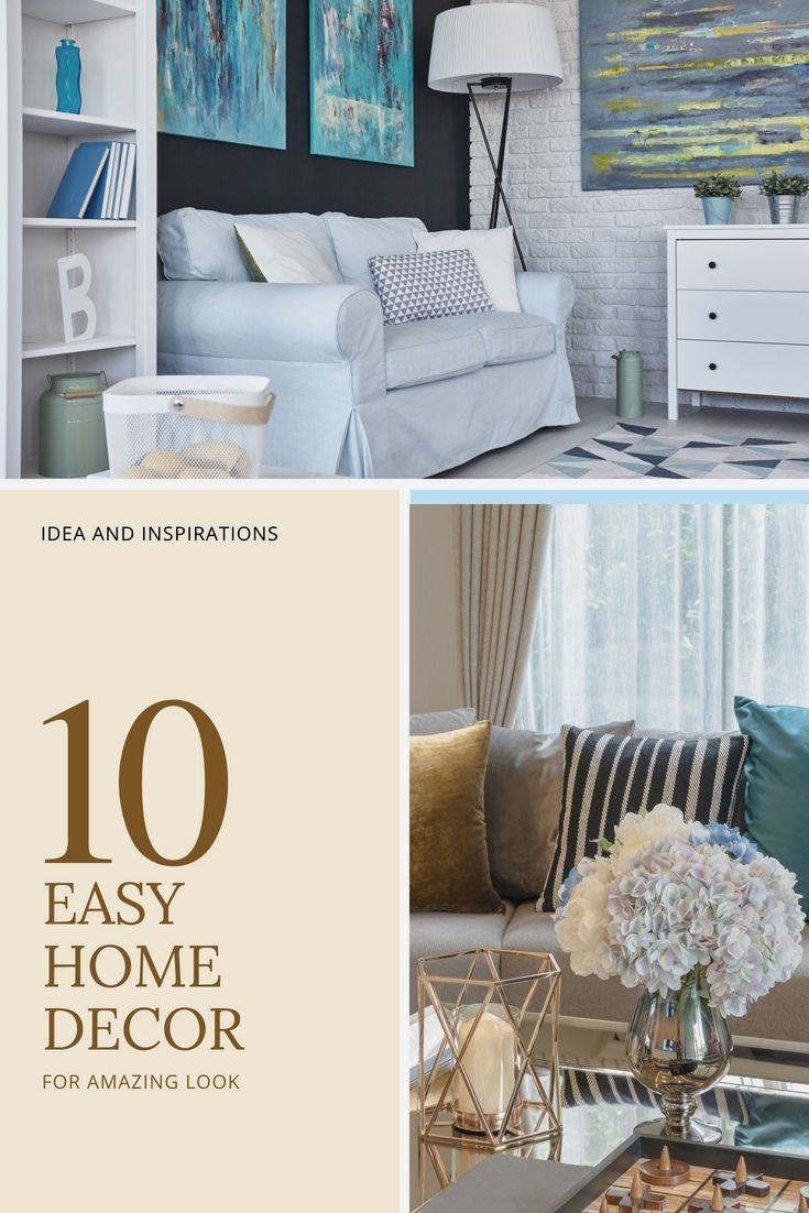 23+ Easy Home Decor Creative Ideas For Your Current Home Decor ...