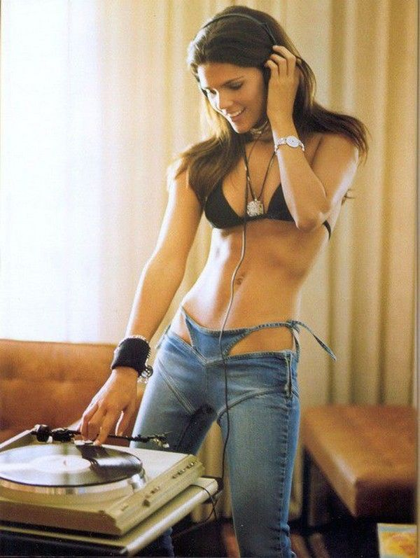 Love the turntable but those jeans are badasss...JB