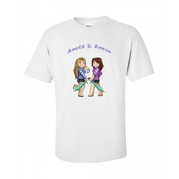 Anett & Ancsa - Fehér póló