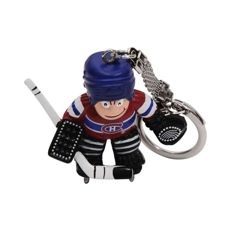 Montreal Canadiens Goalie Keyring - Sunset Key Chains