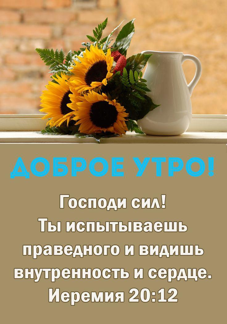 Открытки доброе утро со словами поддержки, днем рождения