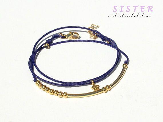 Morse code bracelet-Sister morse code bracelet-Morse code