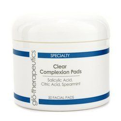 Glotherapeutics Clear Complexion Pads  50pads ** To view further for this item, visit the image link. (Note:Amazon affiliate link)