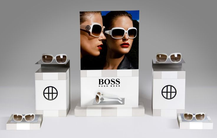 Client: Safilo for Hugo Boss Window Display for Optician Stores