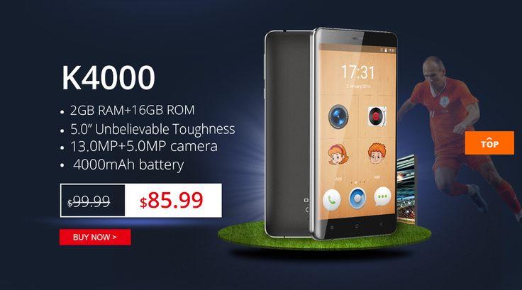 OUKITEL K4000 flash sale only $85.99
