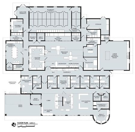 1000 images about pet store on pinterest hospital for Dog grooming salon floor plans