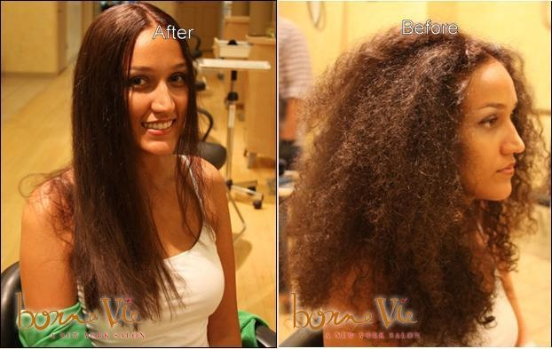 Brazilian Hair Straightening is the option for women who want low maintenance, shiny straight hair.