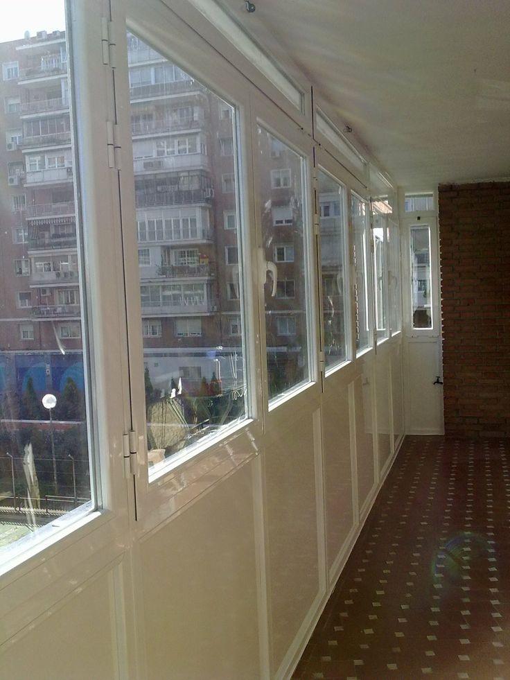 10 best tancaments alumini images on pinterest - Cerrar balcon ...