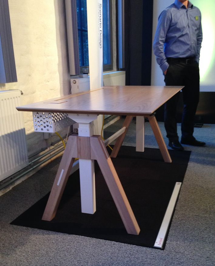 #VID office table (Prototype) for Aarsland Furniture Factory - Norway