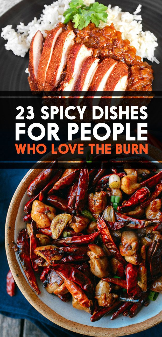23 Spicy Dishes For People Who Love The Burn @BUZZ