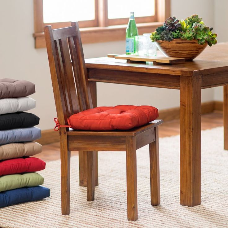 1000 ideas about kitchen chair cushions on pinterest chair pads chair cushions and kitchen. Black Bedroom Furniture Sets. Home Design Ideas