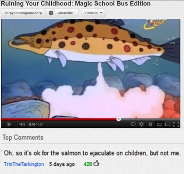 The 25 Worst YouTube Comments Ever