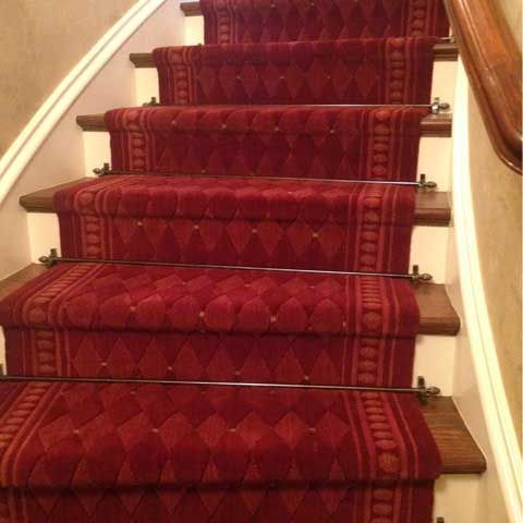 Stair Runner Installation Is Done Be Professional Installer At ODR. From  The Processing Of Measuring, Designing U0026 Installing Runners On Straight,  Curve, ...